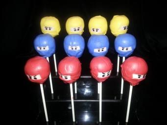 ninja cake pops
