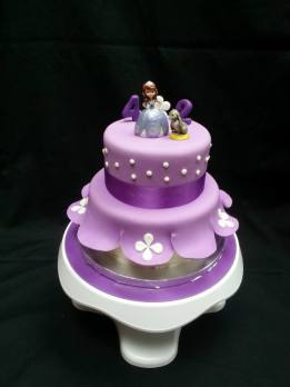 purple fondant princes
